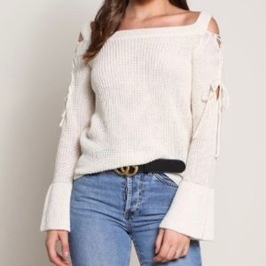 • Grace Strappy Detailed Sweater •